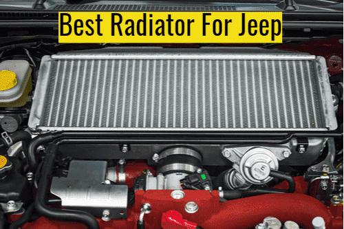 Jeep XJ Radiator