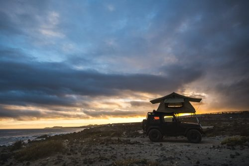 Jeep gladiator tents