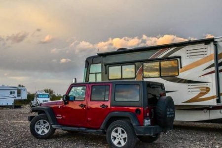 jeep gladiator towing capacity with tow package