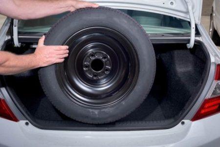 F10 spare tire key won't turn